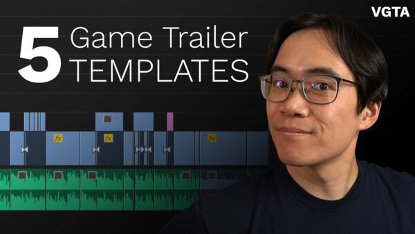 Simple game trailer templates
